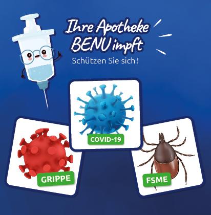 BENU Apotheke impfen