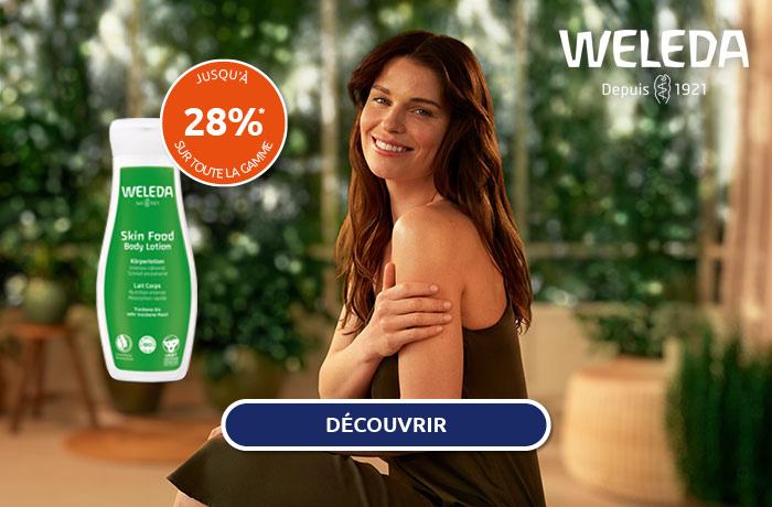 Weleda: soins pour le visage et le corps pas cher