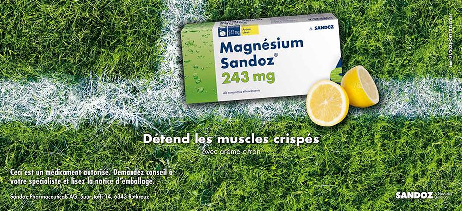 Sandoz Magnesium pas cher