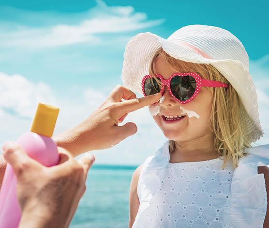 Sonnenschutz für die empfindliche Kinderhaut günstig kaufen