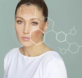 Gesichtspflege für pigmentierte Haut