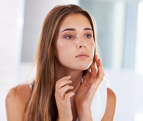 Gesichtspflege für fettige Haut