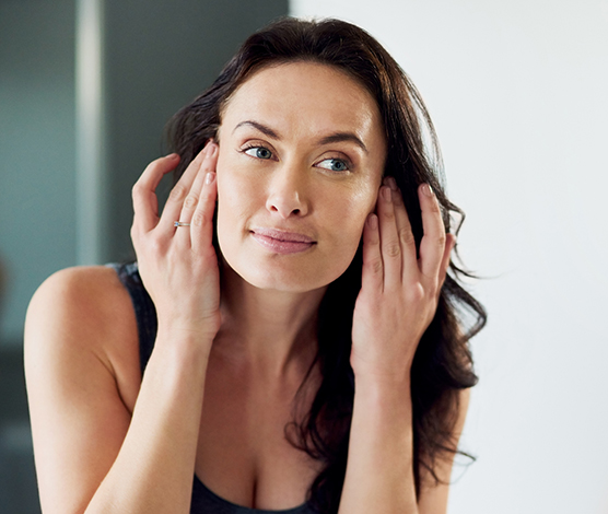 Gesichtspflege für trockene Haut