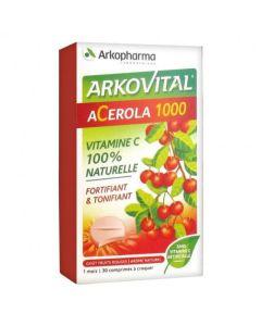 Acerola comprimé 1000 mg