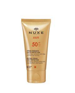 SPF 50 crème visage fondante haute protection