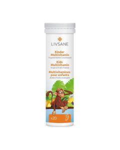 Multivitamin-Brausetabletten für Kinder Tropenfrüchte
