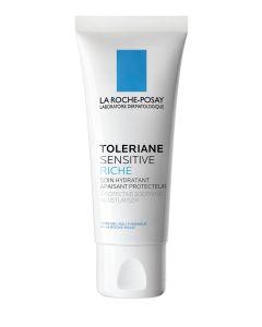 Toleriane sensitive riche - Soin hydratant prébiotique pour peaux sensiblex sèches à très sèches