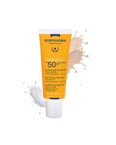 SPF50+ Dry touch teinte medium