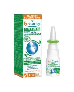 Spray nasal décongestionnant huiles essentielles bio