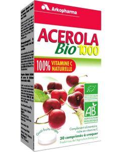 Acerola comprimé 1000 mg bio